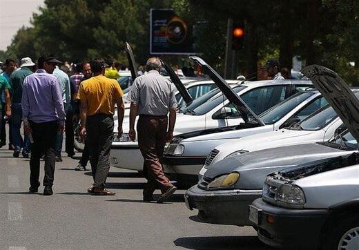 تداوم روند افزایش قیمت خودرو در بازار