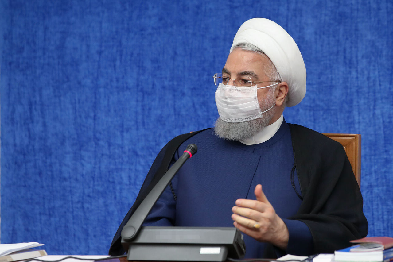 رئیس جمهور: رژیمی که خواب سقوط نظام ایران را میدید، به صورت حقیرانهای ساقط شد